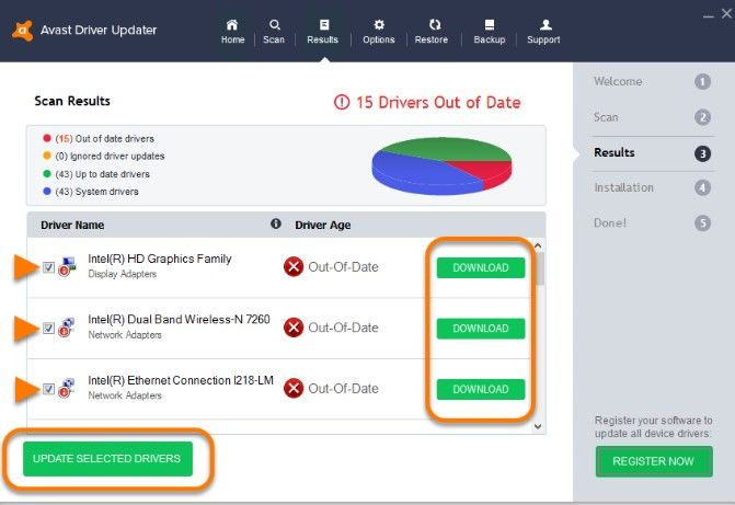 Download Avast Driver Updater